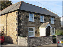 SW5638 : Cottage on Churchtown Road with Slag Block Quoins by Matthew Hatton