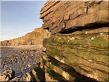 SS9168 : Coastline from Nash Point towards Southerndown by Alan Hughes
