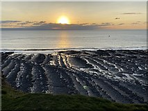 SS9168 : Sunset at Nash Point by Alan Hughes