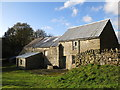 NY9442 : Stotfield Burn farm buildings (2) by Mike Quinn