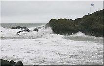 NW9954 : Entrance to Portpatrick Harbour by Richard Sutcliffe