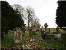 SK5451 : The churchyard, Papplewick by Jonathan Thacker