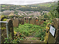 SD9927 : Cross Lanes Methodist Graveyard, Hebden Bridge by Phil Champion