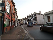 ST0207 : High Street in Cullompton by Steve Daniels
