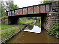 SJ9048 : Railway Bridge north of Bucknall, Stoke-on-Trent by Roger  Kidd