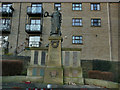 SE1835 : Eccleshill war memorial by Stephen Craven