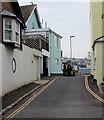 SX9372 : No Parking in Riverside, Shaldon by Jaggery