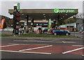 SO4593 : Applegreen filling station, Church Stretton by Jaggery