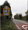 SO4593 : Church Stretton - Please drive carefully by Jaggery