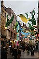 TQ2980 : Carnaby Street Christmas Decorations 2019 by Oast House Archive