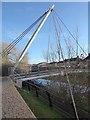SE6051 : Hungate footbridge - the mast by Oliver Dixon
