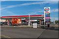 TQ1657 : Kingscroft Service Station by Ian Capper
