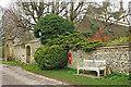 ST7572 : Postbox outside Manor House, Cold Ashton by Derek Harper