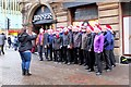 NT2574 : Christmas choir, Rose Street Edinburgh by Jim Barton