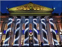 NT2574 : Christmas decorations at The Dome, George Street, Edinburgh by Claire Pegrum