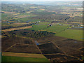 NS4465 : Farmland near Glasgow Airport from the air by Thomas Nugent