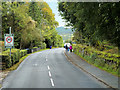 NS0036 : A841 approaching Brodick Primary School by David Dixon