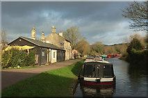 ST7565 : Canal Cottages by Derek Harper