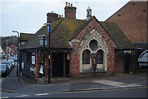 TQ9220 : Former Water Works building on Tower Street, Rye by Ian S