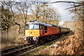 SK0148 : Diesel Train on the Churnet Valley Railway by Brian Deegan