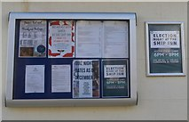 NT4999 : Notice Board, The Toft, Elie by Bill Kasman