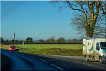 SS5514 : Beaford : The A3124 by Lewis Clarke