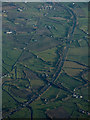 J1760 : The M1 motorway from the air by Thomas Nugent