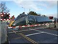 SO8454 : Henwick Road level crossing, Worcester by Chris Allen