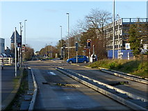 TL4661 : Busway crossing by Alan Murray-Rust