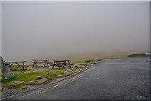 NY4008 : Lakes : Kirkstone Pass Car Park by Lewis Clarke