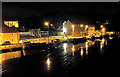 S7143 : Quay at Night by kevin higgins