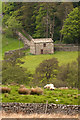 NY9704 : Field Barn, Faggergill Bridge by P Gaskell