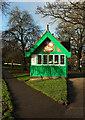 SE3055 : Ice cream kiosk, Harrogate by Derek Harper