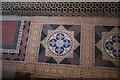 SK8723 :  Church of St John the Baptist:  Encaustic tiles by Bob Harvey