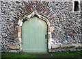 TG2309 : St Helen Bishopgate - door into Derlyngton's Tower by Evelyn Simak