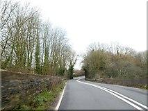 ST3000 : A358 (Chard Road) bridge over railway line by David Smith