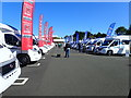 NZ1248 : Open Day at the Elddis factory in Consett by Eirian Evans
