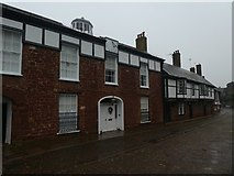 SX9292 : Cathedral Close, Exeter by David Smith