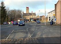 SE1039 : Market Street car park, Bingley by habiloid