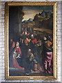 SK8723 : The Church of St John the Baptist: oil painting by Bob Harvey