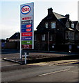 SO3014 : December 29th 2019 Esso fuel prices, Abergavenny by Jaggery