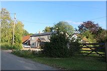 TL4028 : House on Duck Street, Little Hormead by David Howard