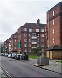 TQ3287 : Woodberry Down Estate, near Manor House by Julian Osley