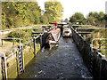 SU5266 : Monkey Marsh Lock, Kennet Navigation by Jo Turner