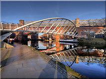 SJ8397 : Merchant's Bridge, Castlefield Basin by David Dixon