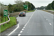NS3337 : Layby on the Irvine Bypass (A78) by David Dixon