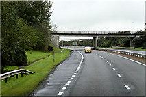 NS3336 : A78, Bridge at Newhouse Interchange by David Dixon