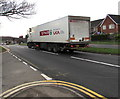 ST3091 : SPAR articulated lorry on the A4051 Malpas Road, Newport by Jaggery