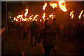 NC8300 : New Year's Day 2020 Torch Parade, Golspie, Sutherland by Andrew Tryon