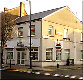 SS7597 : Tai Tarian office on a town centre corner, Neath by Jaggery